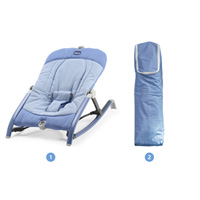 Transat bébé pocket relax indigo