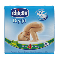 Couches dry fit maxi taille 4  8-18 kg