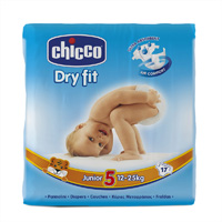 Couches dry fit junior taille 5 12-25 kg