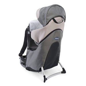 Porte bébé dorsal finder dove grey