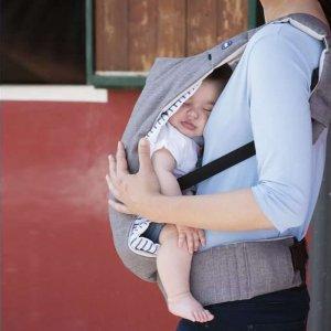 Porte bébé myamaki grey aquarelle