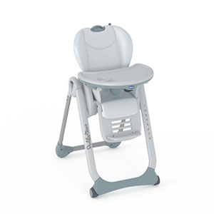 Chaise haute bébé polly 2 start glacial