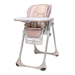 Chaise haute bébé polly 2 en 1 dune