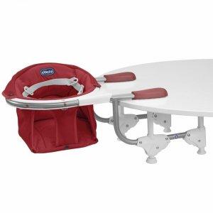 Siège de table 360° scarlet texture douce