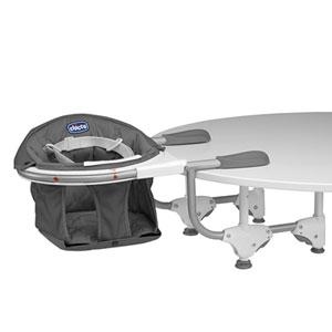 Siège de table 360° grey