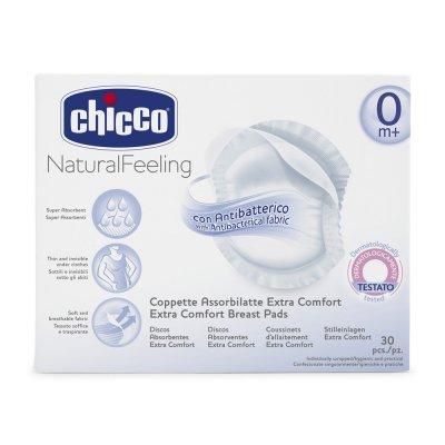 Lot de 30 coussinets d'allaitement Chicco