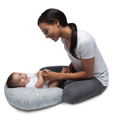 Coussin d'allaitement boppy sky Chicco