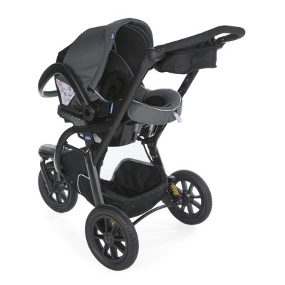 Pack poussette trio activ3 top iron Chicco