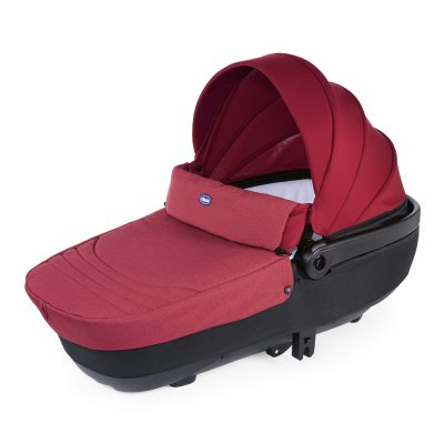 Pack poussette trio best friend comfort red Chicco