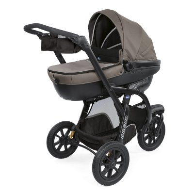 Pack poussette trio activ3 top dark beige Chicco
