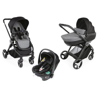Pack poussette trio best friend + comfort i-size Chicco