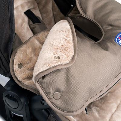 Pack coloris pour la poussette urban winter day edition limitee Chicco