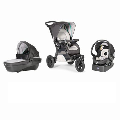 Pack poussette trio activ3 top dune Chicco
