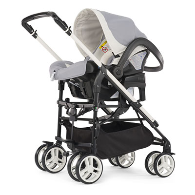 Pack poussette trio mycity grey Chicco