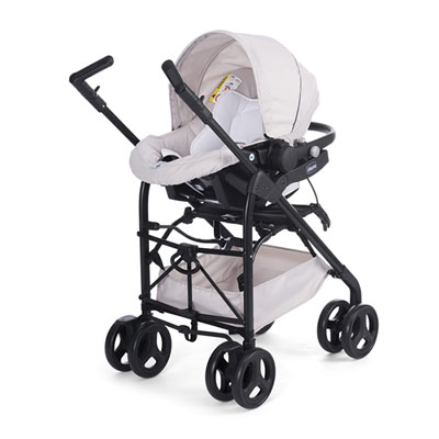 Poussette trio sprint black Chicco