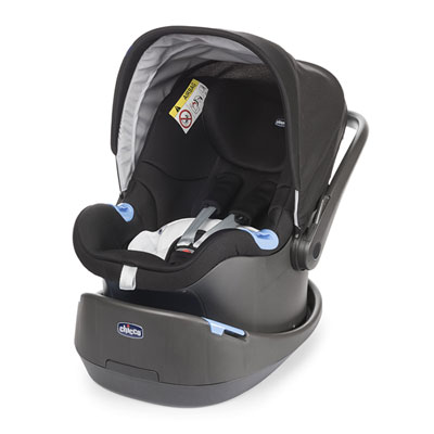 Pack poussette trio love motion black night Chicco