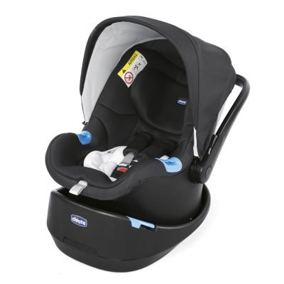 Pack poussette trio stylego up jet black Chicco