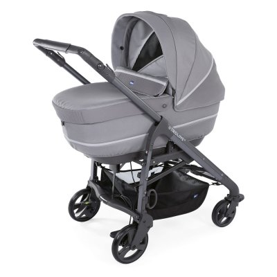 Pack poussette trio love up oasys bebecare cool grey Chicco