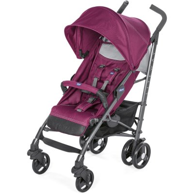 Poussette canne liteway 3 red plum Chicco