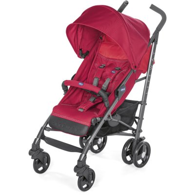 Poussette canne liteway 3 red berry Chicco