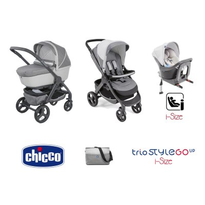 Poussette trio StyleGo up i-size Chicco