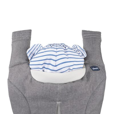 Porte bébé myamaki grey stripes Chicco