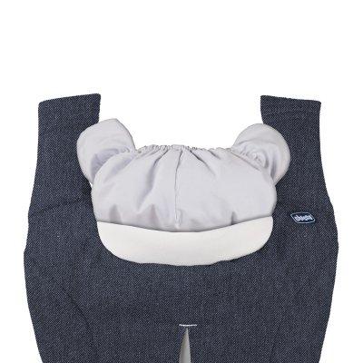 Porte bébé myamaki denim beige Chicco
