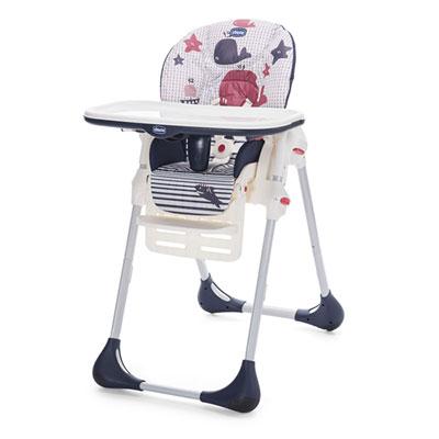 Chaise haute bébé polly easy marine Chicco