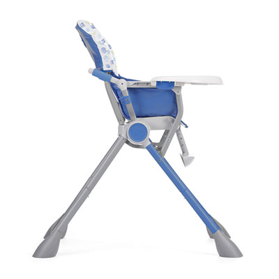 Chaise haute bébé pocket meal blue Chicco