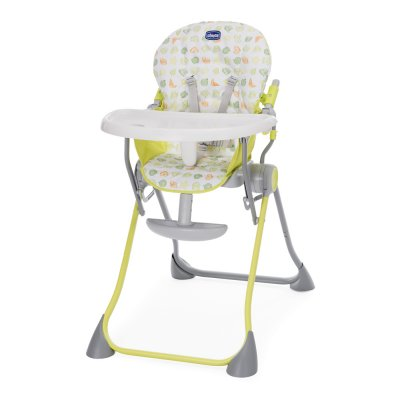 Chaise haute bébé pocket meal green apple Chicco