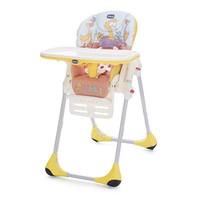 Chaise haute bébé polly easy birdland Chicco