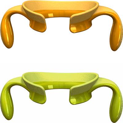 Poignées step up vert/jaune 4 mois+ Chicco