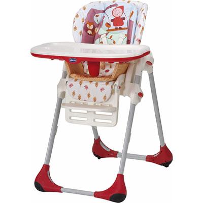 Chaise haute bébé polly 2 en 1 happy land Chicco