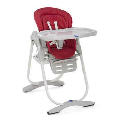 Chaise haute bébé polly magic paprika Chicco