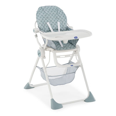 Chaise haute pocket lunch moonlight Chicco