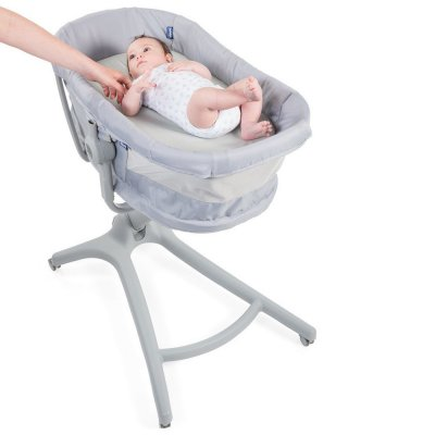 Table à langer pour baby hug 4in1 gris Chicco