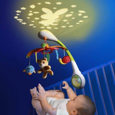 Mobile bébé projecteur de la fôret Chicco