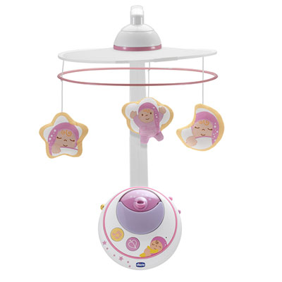 Mobile double projection rose first dreams Chicco