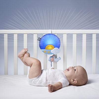 Veilleuse bébé projection sunset bleu first dreams Chicco