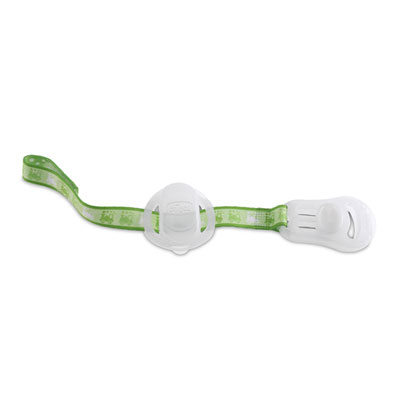 Attache sucette avec protection vert phosphorescent Chicco