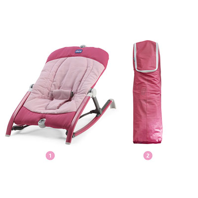 Transat bébé pocket relax lollipop Chicco