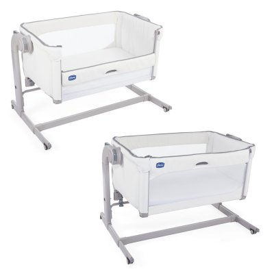 Berceau cododo next 2 me magic white snow Chicco