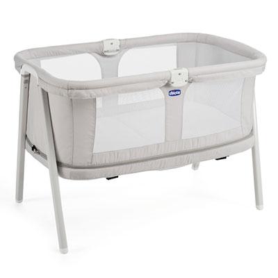 Berceau bébé lullago zip light grey Chicco