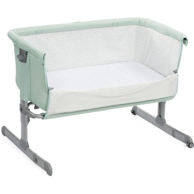 Berceau cododo next 2 me dusty green Chicco
