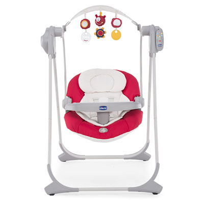Balancelle bébé polly swing up paprika Chicco