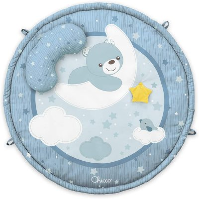 Tapis d'éveil bébé colors gym bleu Chicco