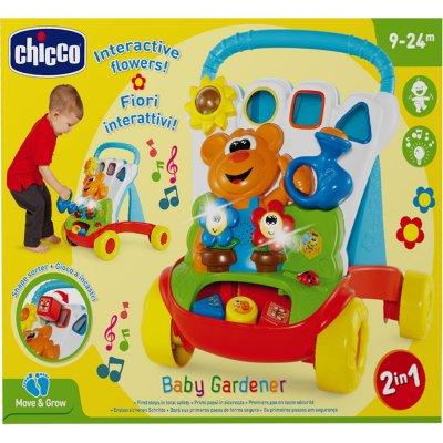 Aide à la marche bébé jardinier Chicco