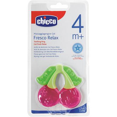 Anneau de dentition refrigerant cerise 4 mois+ Chicco