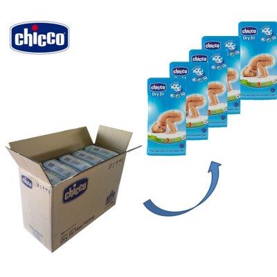 Carton de 210 couches t3 dry fit 4/9 kg Chicco