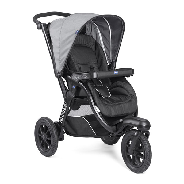 Poussette combiné trio activ3 top dark grey Chicco